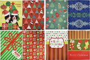 Set of 8 Christmas Holiday Lingerie Boxes! Beautifully Patterned and Themed Gift Boxes