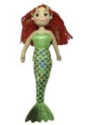 A B Gee 362 C6041 Lisa Rag Mermaid Doll Plush Toy, 45 cm
