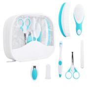 Infant Care Kit, Fascigirl 7 Pcs Baby Healthcare Nursery Essential Baby Grooming Set