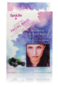 My Spa Life Facial Mask , Blueberry & Acai Berry Hydrating , 3 Ct