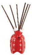 Reindeer Red White Reed Diffuser Crimson Fragrance by Pomeroy
