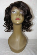100% Virgin Human Hair Full Lace Wig And Frontal Lace Wig Natural Black Colour Body Wave 150% Density 30cm - 46cm