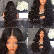 Vanessa Queen Synthetic Hair Wig Products Long Wavy With Baby Hair Synthetic Lace Front Wig Heat Resistant 60cm