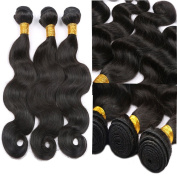 Malaysian Virgin Hair Body Wave 100% Unprocessed Human Hair Weave Bundles