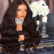 Lanting Hair Synthetic Hair Body Lace Front Wigs Middle Part Wigs For Black Women 180% Density Synthetic Heat Resistant Fibre Front Lace Wig 70cm Lace Front Wig