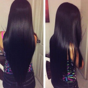 Cherie Hair 7A Malaysian Virgin Straight Hair Weave 4 Bundles 100% Unprocessed Human Hair Extensions Natural Colour Deal with Mixed Lengths