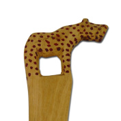 "Salad servers ""Animal Handles"", Cheetah"