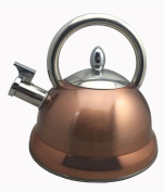 Baumalu 342782 3 Litre Stainless Steel Kettle – Copper