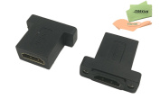 HDMI Female to Female Adapter,CERRXIAN 2-Pack Gold Plated High Speed HDMI Female Coupler
