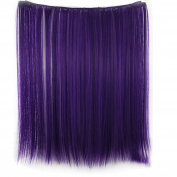 Feicuan Women Straight Synthetic Coloured Hair Extension Hairpiecces -41cm