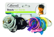 27Pcs HAIR BANDS MULTI PACK Elastics Tie Bobbles Band School Ponytail Kids Gift by Lizzy®