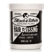 Black & White Pluko Hair Dressing 200ml, 2 (TWIN) Pack