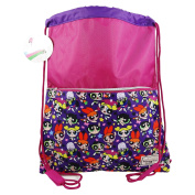 The Powerpuffs Kid Child Drawstring Backpack Daypack Sport