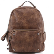 LeahWard Girls Quality Faux Leather Backpack Bags Women's Nice Rucksack Bag Handbags For School Holiday A4 CW186
