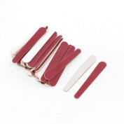 Red Disposable Professional Beauty Care Nail File 50 PCS