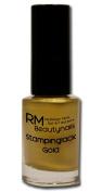 RM Beautynails Stamping Nail Varnish 5ml Gold