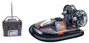 Black Hovercraft Radio Control Sport Boat Hovership Amphibious RC Childrens Toy