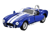 1:32 Scale Die-cast Shelby Ford Cobra 427 Model Car Racing Car Toy With Sound and Light Auto Collectors for Kids Boys Christmas Present Birthday Children's Day Gift, Blue