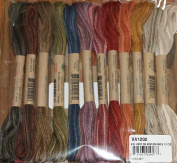 Vintage Hues - Valdani 6-Strand embroidery floss/thread - 12 skeins/10 yards each