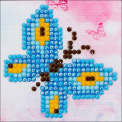 Needleart World Butterfly Sparkle Diamond Embroidery Kit