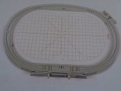 NGOSEW Large Oval Embroidery Hoop 145mm X 255mm Bernina Artista 185 200 630 640 730 830