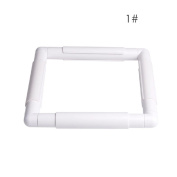 Plastic Embroidery Frame Cross Stitch Hoop Square Sewing Cross DIY Craft Tool