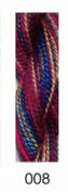 CARON- watercolours-008-NEFERTITI-1 -10 yd skein with this listing