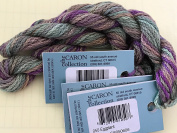 CARON- watercolours-050-EGGPLANT-1 -10 yd skein with this listing