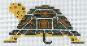 CHARLEY HARPER'S-TURTLE OUTSIDE ORNAMENT-HC-O276-18 CT NEEDLEPOINT CANVAS