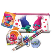 Trolls Childrens/Kids Official Flat Filled Pencil Case (One Size)