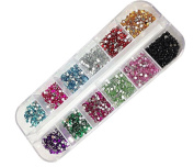 Baomabao 3000 Nail Diamonds Twelve Colours