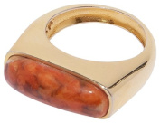 Lizzie Fortunato Coral Organic Ring Size - O