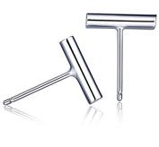 iszie jewellery sterling silver simple small plain bar stud fashion earrings