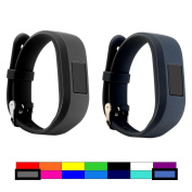For Garmin Vivofit 3 and Vivofit JR, Dunfire Colourful Accessory Band/ Wristbands With Secure Watch-style Clasp For Garmin Vivofit 3 and Vivofit JR