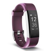 Fitness Tracker, MoreFit Slim HR Plus Heart Rate Smart Bracelet Pedometer Wearable Waterproof Activity Tracker Watch