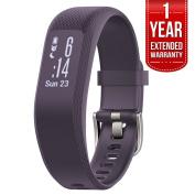 Garmin (010-01755-11) vivosmart 3 - Small/Medium, Purple With 1 Year Extended Warranty