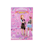 COLORTEE Girls Voice Microphone Karaoke Singing Funny Gift MP3 Music Toy