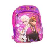Disney Frozen Pink Backpack Princess Elsa & Anna 41cm