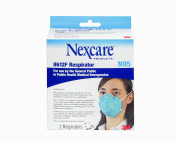 Nexcare Particulate Respirator 8612F - FDA Approved, 2-Count