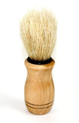 JUVITUS Shaving Brush - Boar Bristles & Wooden Handle