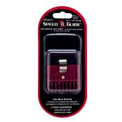 Universal Clipper Speed O Guide Red Comb Attachment 0.5cm No #0 Barber Salon