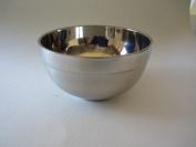 NaWiat Stainless Steel Insulated Shaving Bowl 113x62mm
