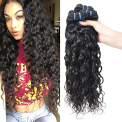 Peruvian Wet and Wavy Human Hair Weave Bundles 100% Peruvian Virgin Human Hair Water Wave Weft 4 Bundles Black Colour Hair Extensions