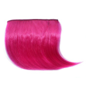 Wig for Women, jinjiu 1PC Ultra Thin One Piece Clip in Hair Bangs Fringe Hairpieces Hair Extensions Party Wigs