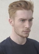 SinoArt Men's Hairpiece Human Hair Toupee Wig Super Thin Skin Hair Replacement Base Size 20cm x 25cm #7 Light Ash Brown