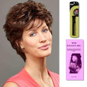 Willow by Henry Margu, Wig Galaxy Hair Loss Booklet & Magic Wig Styling Comb/Metal Pick Combo (Bundle - 3 Items), Colour Chosen