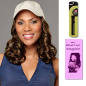 Curly Hat Beige by Henry Margu, Wig Galaxy Hair Loss Booklet & Magic Wig Styling Comb/Metal Pick Combo (Bundle - 3 Items), Colour Chosen