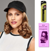 Curly Hat Black by Henry Margu, Wig Galaxy Hair Loss Booklet & Magic Wig Styling Comb/Metal Pick Combo (Bundle - 3 Items), Colour Chosen
