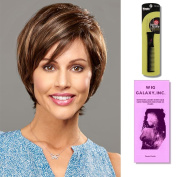 Zoey by Henry Margu, Wig Galaxy Hair Loss Booklet & Magic Wig Styling Comb/Metal Pick Combo (Bundle - 3 Items), Colour Chosen