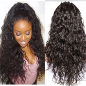 WY Wigs Lace Front Human Hair Wigs Loose Curly Wave Brazilian Virgin Hair Front Lace Wigs for Black Women